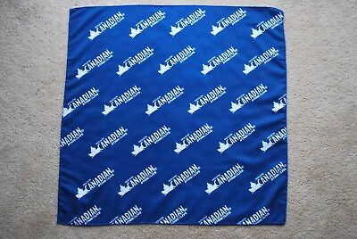 Molson Canadian Beer Bandana New Appx. 22 X 22 Inch.