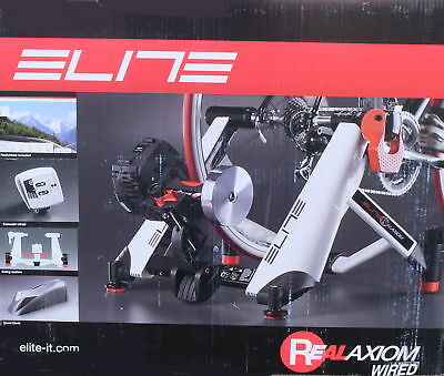 Elite Real Axion Wired Swing Bicycle Trainer MY2015