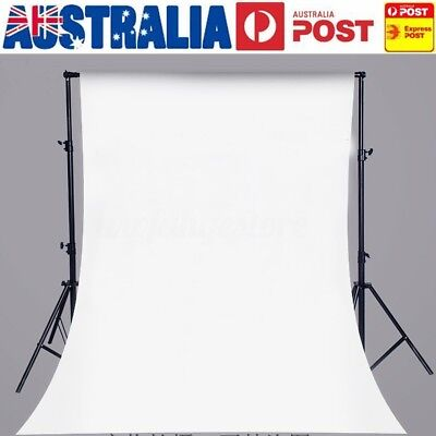 AU 5x7FT White Digital Studio Photography Backdrop Vinyl Photo Background Prop