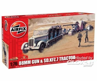 Airfix A02303 88mm Gun and Tractor in 1:76