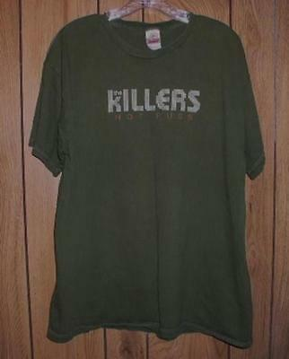 The Killers Concert Tour T Shirt Hot Fuss