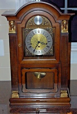 VERY RARE Vintage 1972 Trend by Sligh Minature Mahogany Grandfather Clock