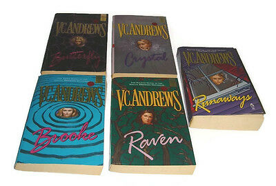 VC Andrews Orphan Series Lot of 5 Books
