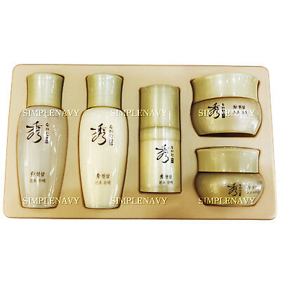 SOORYEHAN Chunsam Revitalizing Special Gift 5 Set