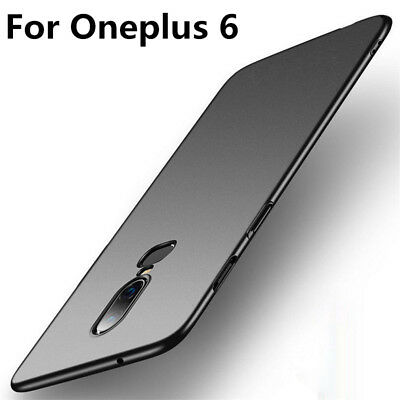 For OnePlus 6t 5 3 Shockproof Luxury Ultra Thin Matte Hard Phone Back Case Cover