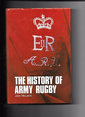 The History Of Army Rugby By John McLaren 1st Edition 1986