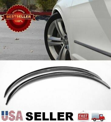 """2 x 29"""" Long Arch Wide Fender Flare Extension Black Protector Lip For Mercedes"""
