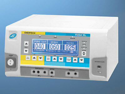 400 W High Frequency Electrosurgical Generator Cautery Diathermy Victor XL LCD F