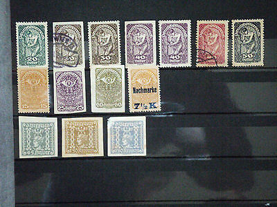 Austria Stamps good mostly mint selection
