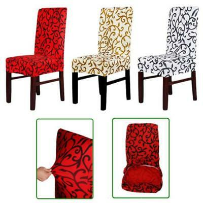 Stretch Dining Chair Cover Washable Removable Slipcover Dinning Cover 1PC JA