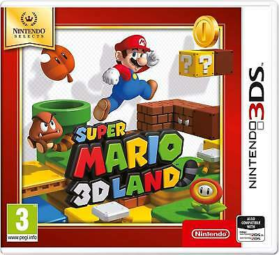 Super Mario 3D Land - Selects - Nintendo 3Ds Brand New Free Delivery