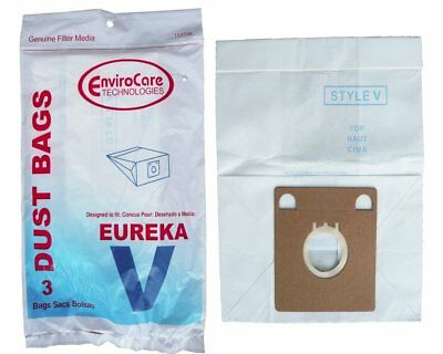 Eureka Style V Vacuum Bags Type Vac 52358B-6 Canister 154SW EnviroCare