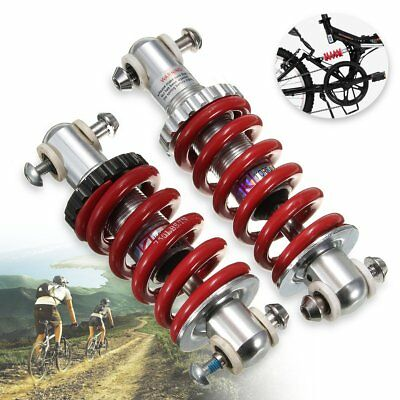 125mm/150mm Aluminum Bicycle Bike Rear Suspension Spring Shock Absorber Shocker