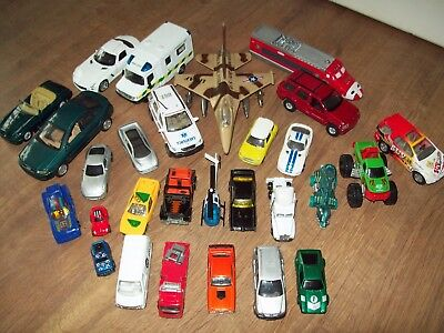 Bundle of unbranded diecast cars & vehicles