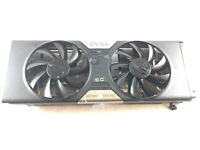 Evga GTX 780 SC ACX Cooler heatsink with fan fans ONLY! NO GPU!