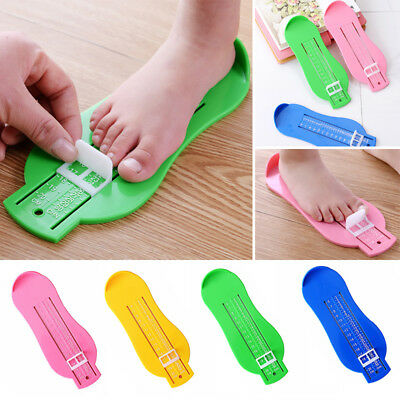 Baby Children Feet Length Shoe Size Measure Ruler Device Tools Convenient Home