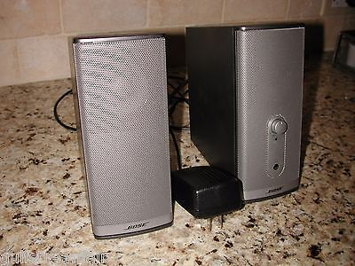 BOSE COMPANION 2 Series II Multimedia Speaker System - TESTED