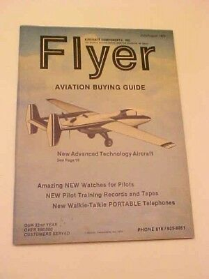 1979 Flyer Aviation Buying Guide Catalog Booklet