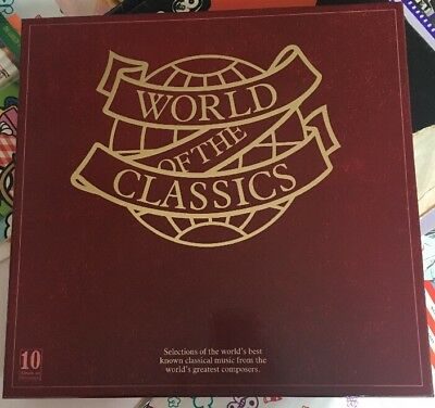 World of The Classics Vinyl Boxset Mint!