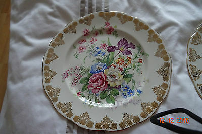 Royal Albert Bone  Floral China Plates In Excellent Condition