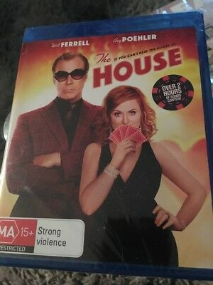 NEW 'The House' (2017) AUS Blu-ray - Will Ferrell - Amy Poehler