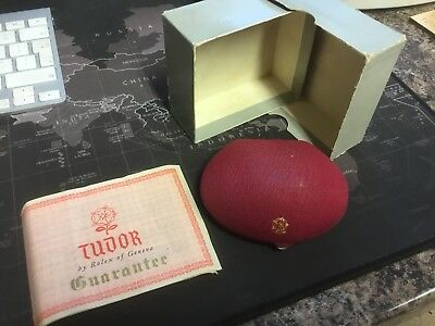 Vintage Tudor Watch Box And Guarantee