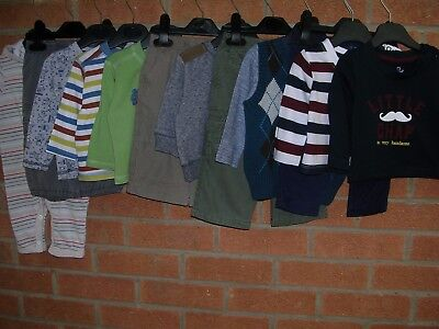 NEXT EARLY DAYS TU etc Boys Bundle Tops Jeans Rompers Cardigan  Age 3-6m