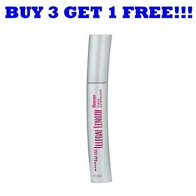 Maybelline Illegal Length Brown Mascara 6.9ml (Pink Writing) Brown Brown Brown