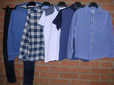 NEXT REBEL etc Boys Bundle T-Shirts Jeans Tops Shirts Jacket Hoody Age 8-9 134cm