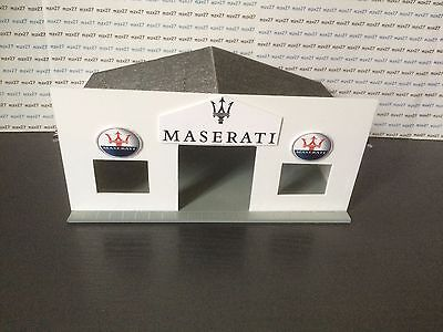Garage MASERATI for cars thumbnails to the 1/43 th pvc