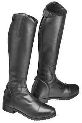 Harry Hall Junior Edlington LEATHER Horse Long/Tall Riding Boot COMPETITION/DRES