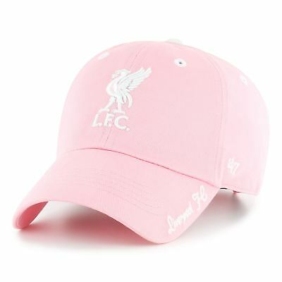 Liverpool FC LFC Girls '47 Pink Clean Up Cap Official
