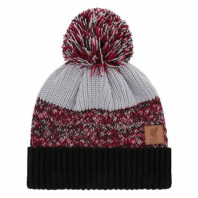 Liverpool FC LFC Mens Twisted Yarn Beanie Official