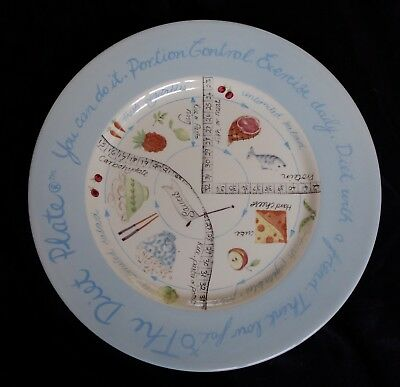 "The Diet Plate (11"") Royal Stafford.  Excellent Condition.  Made In England"