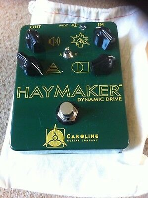 Caroline Guitar Company Haymaker Dynamic Drive overdrive/boost/distortion