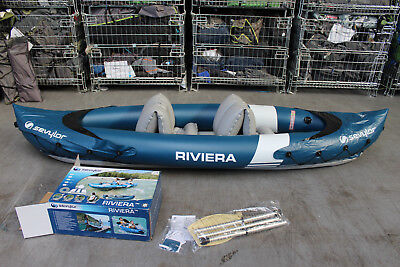 Sevylor Riviera Inflatable 2 seat Kayak +++ RRP £150 +++ 495