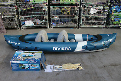 Sevylor Riviera Inflatable 2 seat Kayak +++ RRP £150 +++ 496