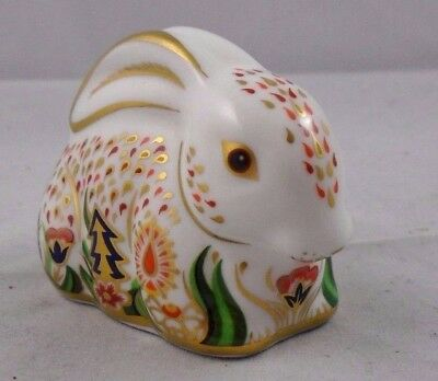 Royal Crown Derby Baby Rowsley Rabbit paperweight