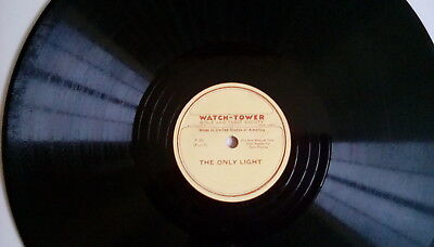 Watchtower: The only Light/The New World.  DISC - P 301/302
