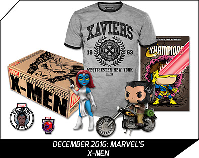 MARVEL Collector Corps X-Men Box Exclusive Funko POP