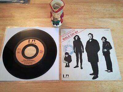 "The Stranglers France / French Walk On By Gold Label 7"" Rare"