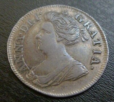 Queen Anne Maundy Fourpence Silver 1713