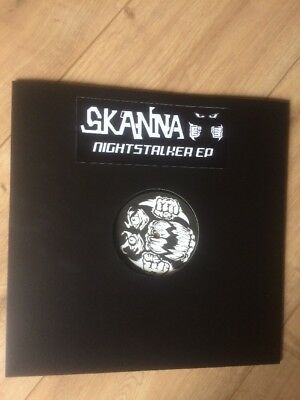 Skanna  Nightstalker EP Old Skool/Breakbeat/Hardcore/Mint 12""