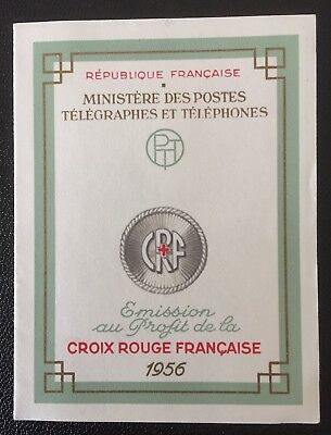 FRANCE 1956 Red Cross Booklet Mint