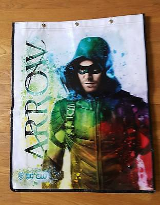 Sdcc 2017 Exclusive Promo Green Arrow vinyl bag swag Tote Backpack Comic Con