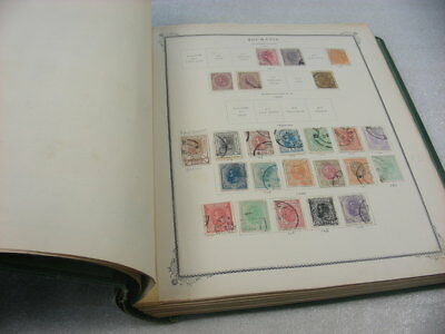 ROMANIA, Advanced Stamp Collection hinged on Scott Specialty pages(binder not in