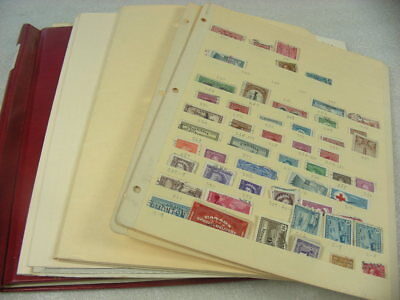 HUNGARY, ITALY, CANADA, DUTCH INDIES &, 100's of Stamps hinged on pages & others