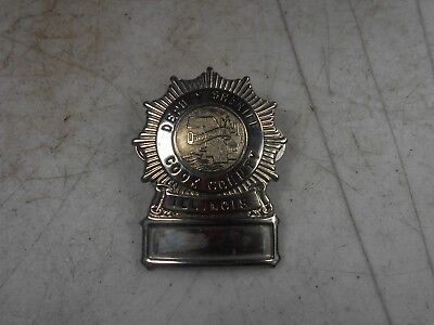 Vtg OBSOLETE  Hanson Cook County Illinois Deputy Sheriff Hat Pin Badge #1144 (5)