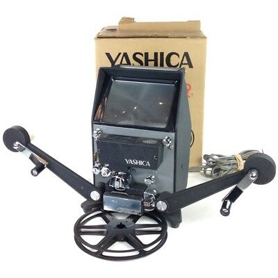 Yashica 8PE-DUAL Dual Format Film Editor for 8mm & Super 8 #40761