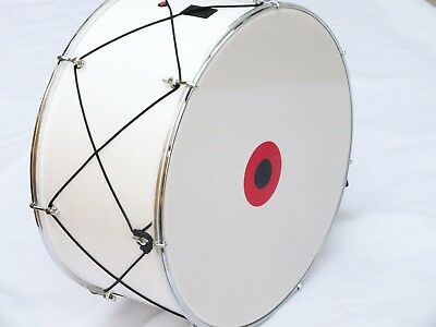"20"" TURKISH  PERCUSSION    DRUM DAVUL w/ METAL CLIPS and  LIGHT !!!!!!"